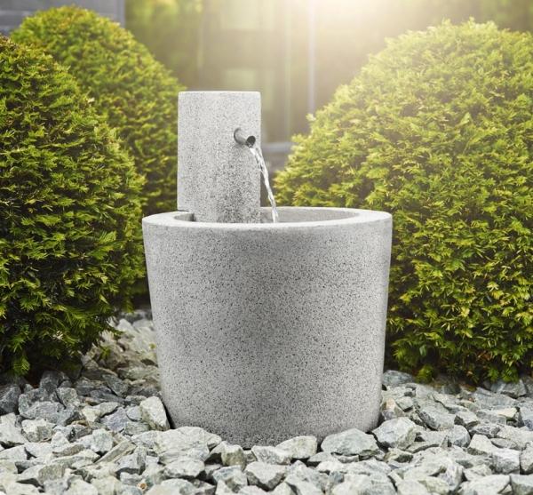 Brunnen in Granit-Optik | Woodsteel - Schöne Dinge für Haus und Garten