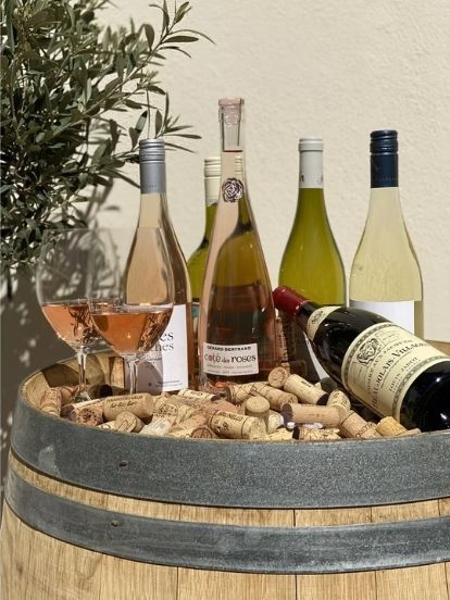 Wein - Urlaubsbox, Frankreich (6 Flaschen)