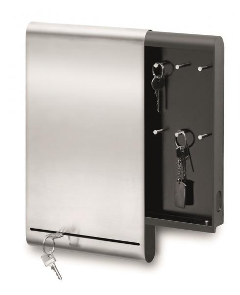 Schlüsselkasten und Magnettafel
