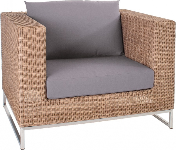Outdoor-Sessel in Loom-Optik