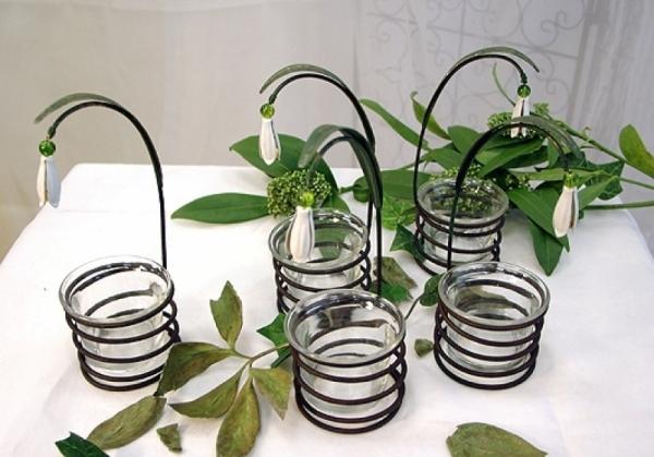 Teelichthalter-Set Galanthus