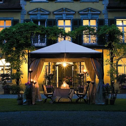 seitenvorhang f r pavillon aus schmiedeeisen woodsteel. Black Bedroom Furniture Sets. Home Design Ideas