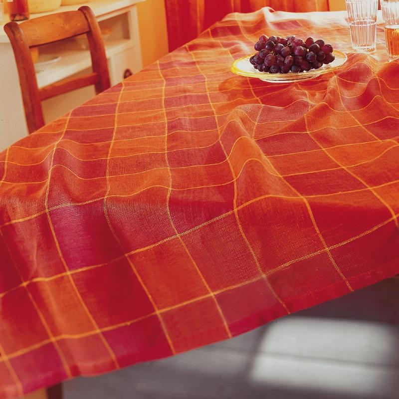 leinen tischdecke harmony 140x140 cm woodsteel sch ne dinge f r haus und garten. Black Bedroom Furniture Sets. Home Design Ideas