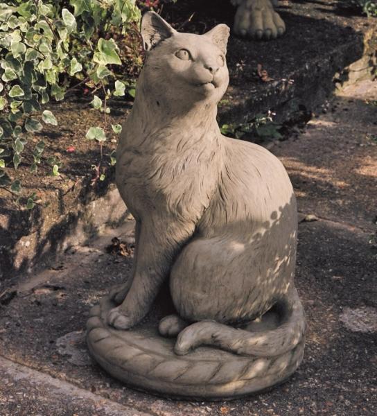 """Steinfigur Katze """"Kitty"""""""