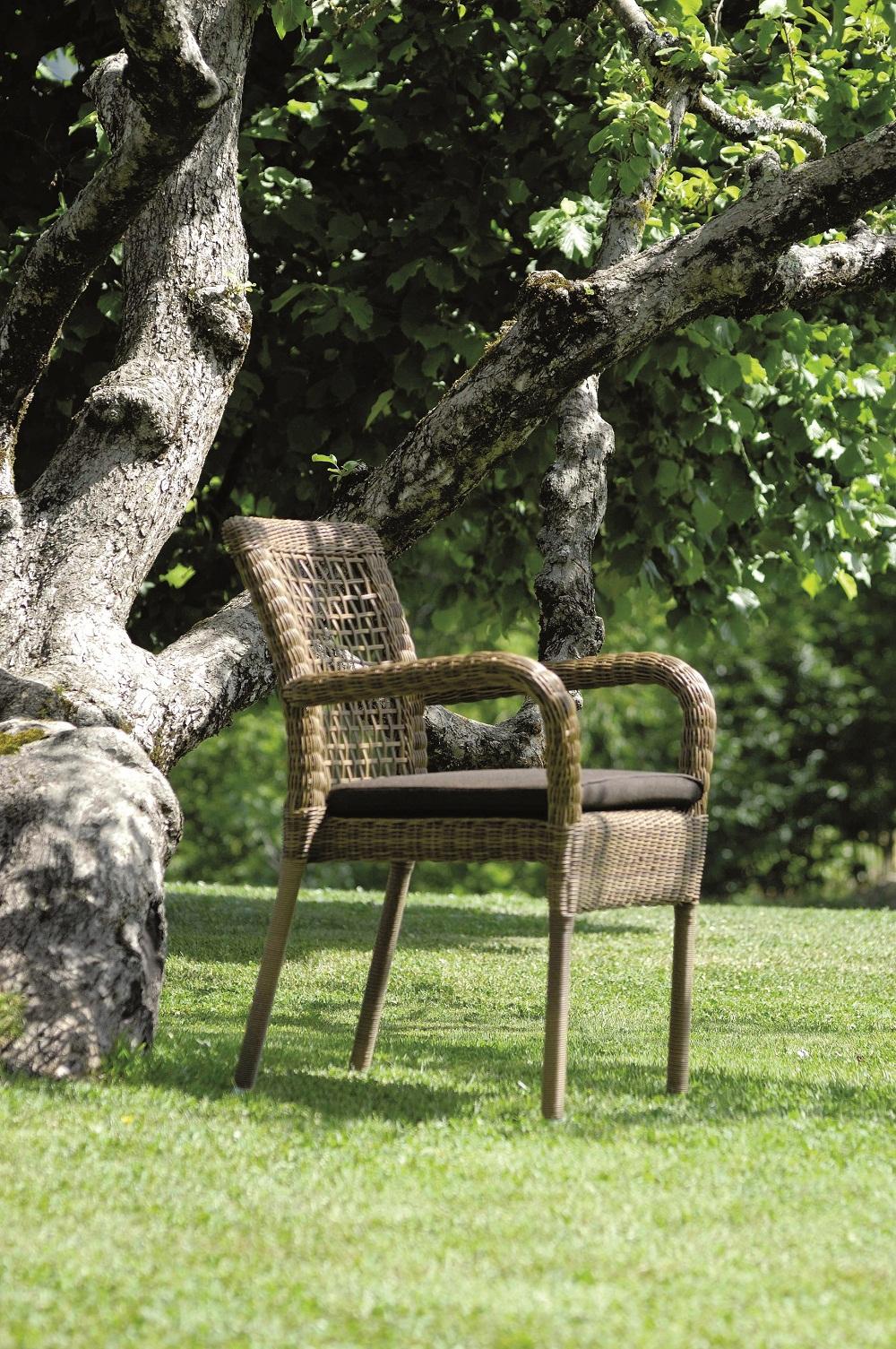 sitzkissen sessel melange schmutzabweisend woodsteel sch ne dinge f r haus und garten. Black Bedroom Furniture Sets. Home Design Ideas