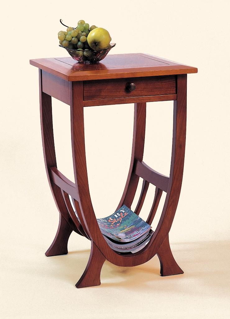 art deco beistelltisch woodsteel sch ne dinge f r haus und garten. Black Bedroom Furniture Sets. Home Design Ideas