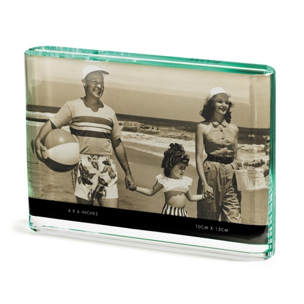 Fotorahmen aus Glas