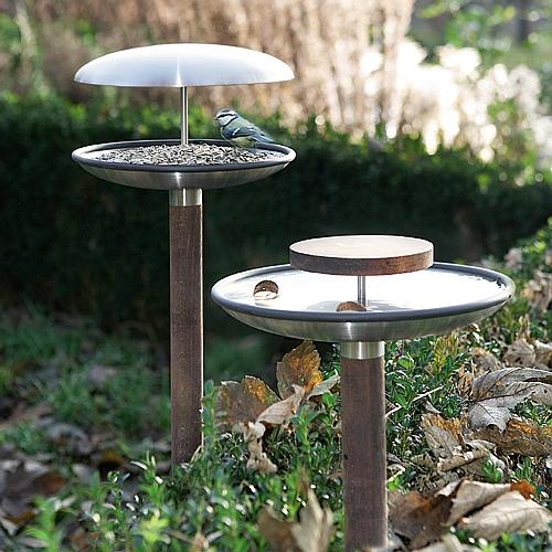 vogelstation woodsteel sch ne dinge f r haus und garten. Black Bedroom Furniture Sets. Home Design Ideas
