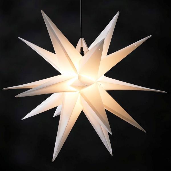 Beleuchteter Weihnachtsstern, wetterfest