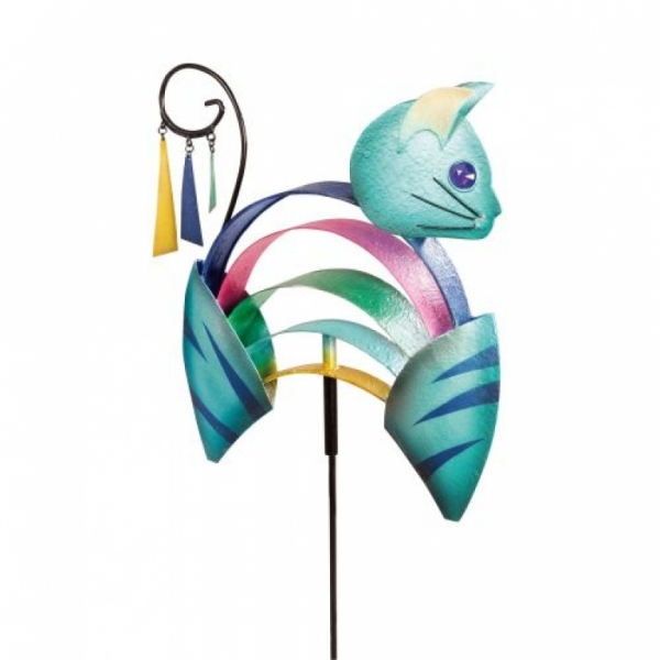 Design Gartenstecker Katze