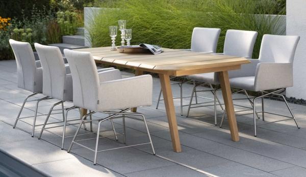 Tisch aus Teakholz 220 x 100