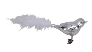 Vogel aus Glas, 4er-Set