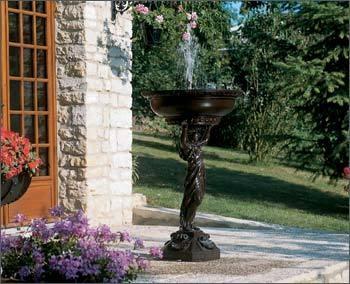 Springbrunnen Cariatide