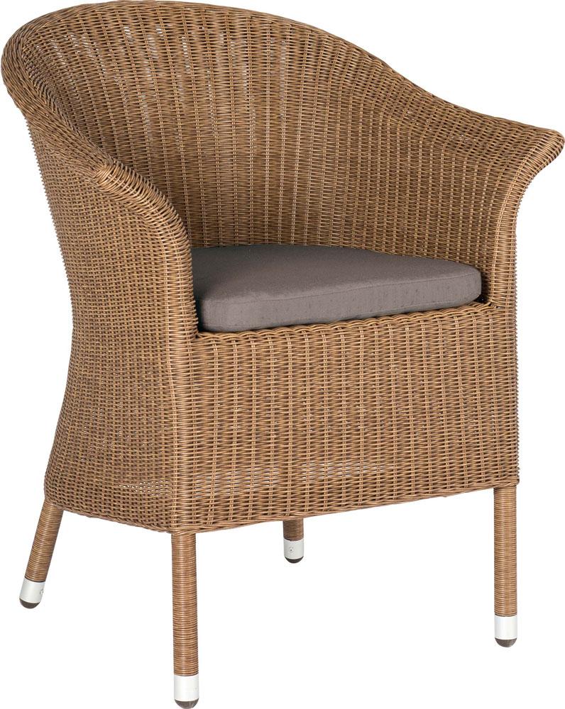 sessel in loom optik woodsteel sch ne dinge f r haus und garten. Black Bedroom Furniture Sets. Home Design Ideas