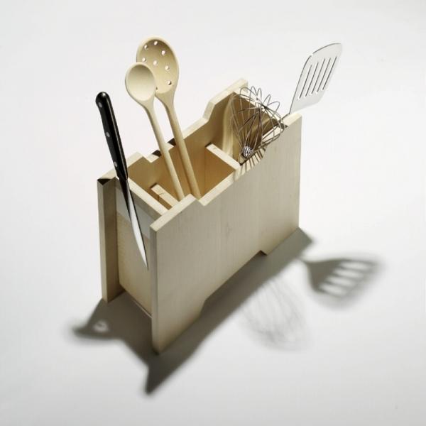 Küchenstation für Kochlöffel, Messer u.v.m.