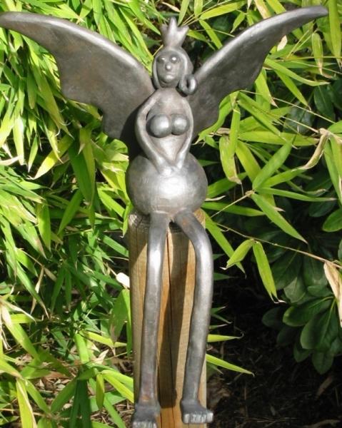 Elfenkönigin aus Kupfer