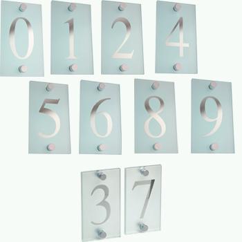 Hausnummer Glas, Ziffer 7