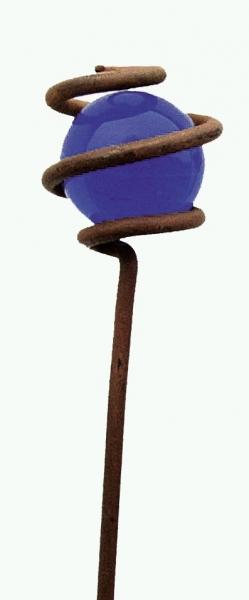 Stab mit blauer Kugel