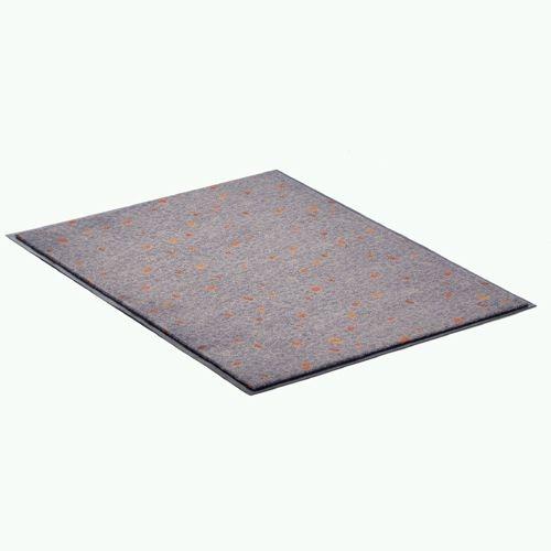 Schmutzschutz-Matte, groß, 75 x 100 cm, blau