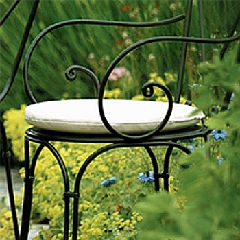 Sitzkissen für die Eisenmöbel
