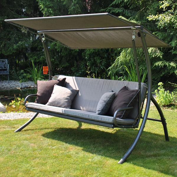 hollywoodschaukel woodsteel sch ne dinge f r haus und. Black Bedroom Furniture Sets. Home Design Ideas